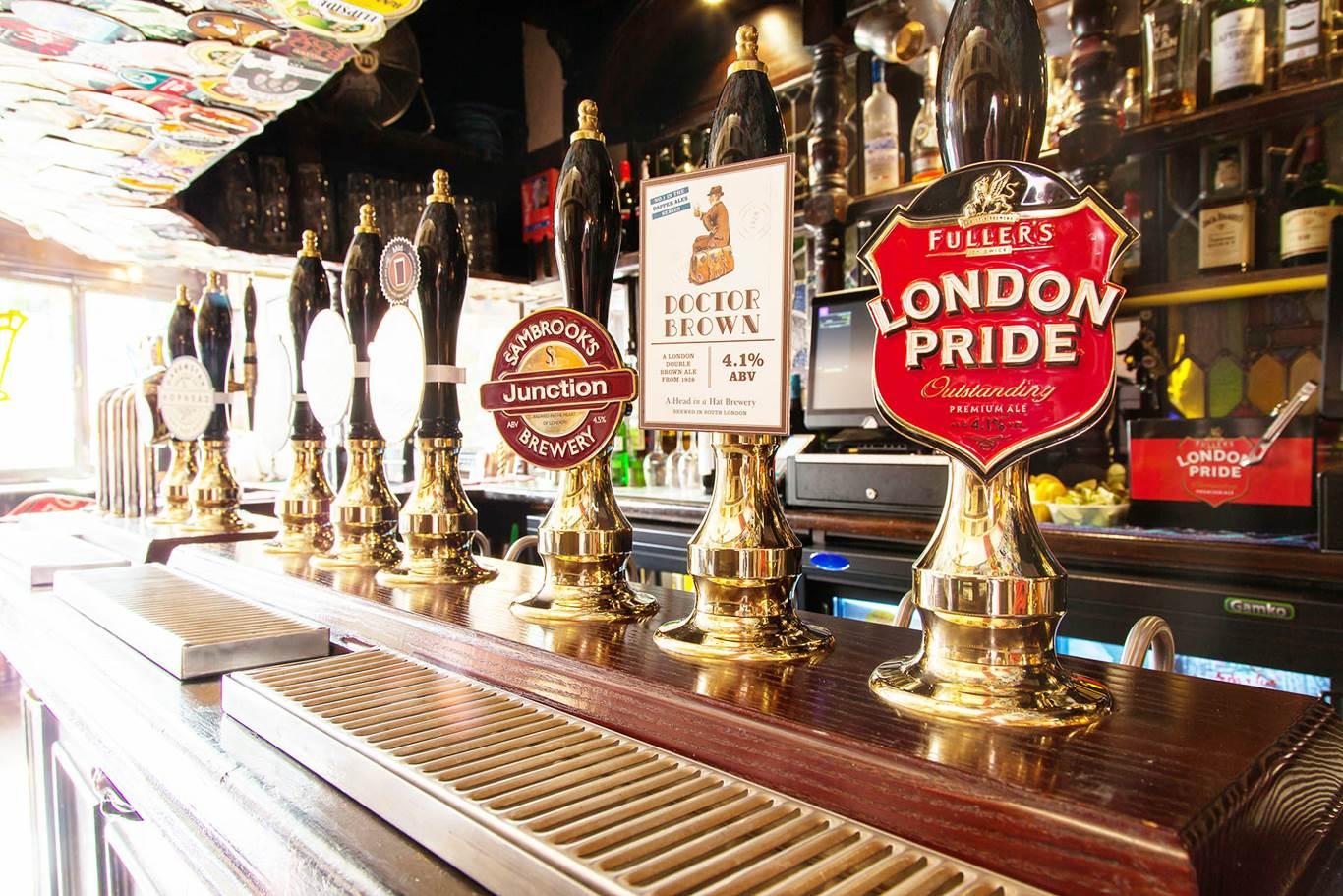 The Harp Award Winning Fuller S Pub In Covent Garden London